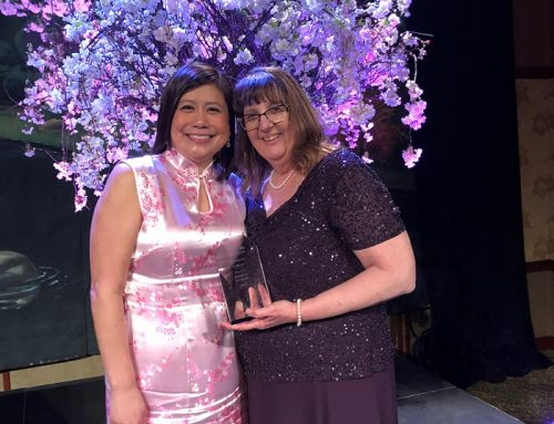 Marcella Hvinden honored at Excellence in Community Awards